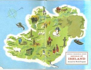 March Ireland Map