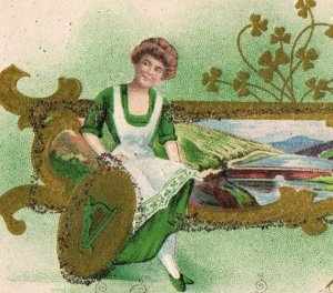 March St Pats postcard