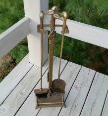 https://www.etsy.com/ca/listing/484503303/brass-duck-head-fireplace-set-4-tools?
