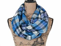 https://www.etsy.com/ca/listing/485978385/blue-plaid-flannel-infinity-scarf-black?
