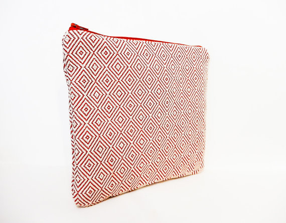 https://www.etsy.com/listing/472906290/fabric-zipper-pouch-orange-diamond-pouch?
