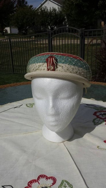 https://www.etsy.com/listing/473730394/beresford-ladies-striped-straw-hat-1950s?