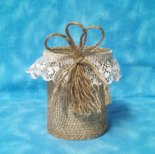 https://www.etsy.com/listing/453128456/burlap-lace-jute-decorated-can-party?