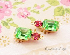 https://www.etsy.com/listing/457347470/peridot-green-octagon-and-rose-pink?
