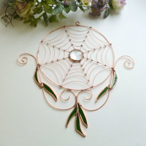 https://www.etsy.com/listing/193107841/round-copper-wire-spider-web-with?