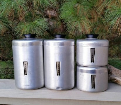 https://www.etsy.com/listing/474182344/brushed-aluminum-canister-set-of-4-flour?