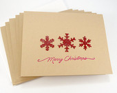https://www.etsy.com/ca/listing/166525009/merry-christmas-card-set-red-snowflake?