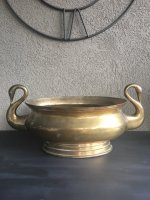 https://www.etsy.com/ca/listing/474554438/vintage-swan-brass-planter-pot-double?