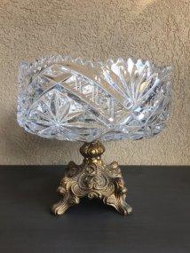 https://www.etsy.com/ca/listing/475557286/vintage-heavy-crystal-bowl-on-metal-base?