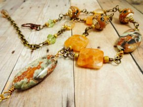 https://www.etsy.com/ca/listing/488316777/vista-jasper-necklace-orange-calcite-and?
