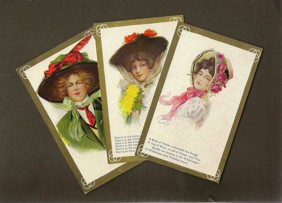 https://www.etsy.com/ca/listing/255001288/trio-of-beautiful-lady-vintage-postcards?