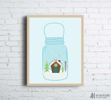 https://www.etsy.com/ca/listing/557749468/mason-jar-snow-globe-christmas-wall-art?