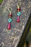 https://www.etsy.com/ca/listing/92221486/garnet-red-earrings-with-teal-green?