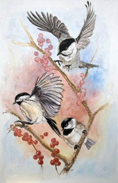 https://www.etsy.com/ca/listing/66915599/note-card-chickadees-and-berries?